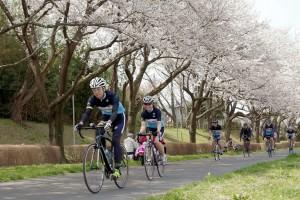 サイクリング入社式