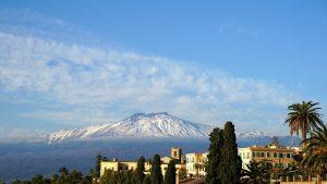 エトナ山 イタリア